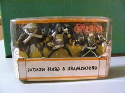 2007 Mattel Shonen Jump Naruto Orochimaru and Grass Ninjas f