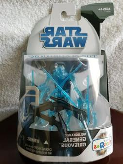 Hasbro 2008 Star Wars The Clone Wars Holographic General Gri