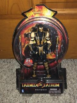"2011 Jazwares Mortal Kombat SCORPION 6"" Inch Action Figure M"