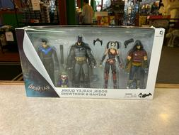 2014 DC Direct Arkham City Robin Nightwing Harley Quinn Batm