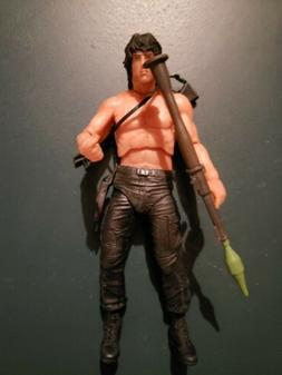 NECA 2015 CONVENTION EXCLUSIVE RAMBO ACTION FIGURE loose new