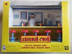 """2019 Bob's Burgers DINER DIORAMA PLAYSET + 6"""" Action Figure"""