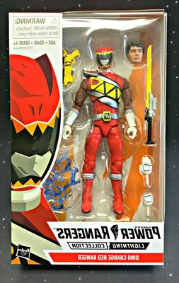2019 Power Rangers Lighting Collection Dino Charge Red Range