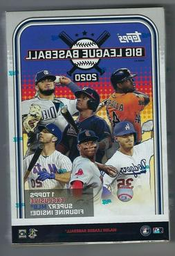 2020 Topps Big League Baseball Collector's Hobby Box with Ac