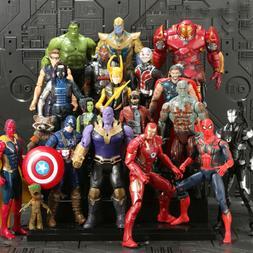 20pcs avengers 3 infinity war thanos superhero