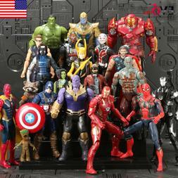 20Pcs Avengers 3 Infinity War Thanos SuperHero Kids Action F