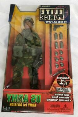 BBI 21141 US ARMY FIRST DIVISION Elite Force 1/6 scale figur