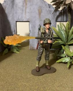 21st Century Elite Force Custom Figure 1/18 Scale WW2 Americ
