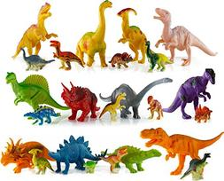24 Dinosaur Toys For 3, 4, 5, 6, 7 year old Boys Girls Toddl