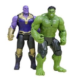 2PCS 6'' Marvel Avengers 3Infinity War Movable Joints Thanos