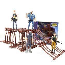 "2Pcs Fortnite 4.5"" Action Figure Toy Kids Boys Gift Doll Mod"