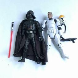 2pcs STAR WARS 501st Clone Pilot TROOPER & Darth Vader actio