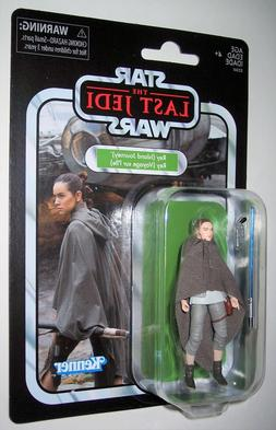 Star Wars 3.75 Vintage 2018 REY ISLAND JOURNEY The Last Jedi