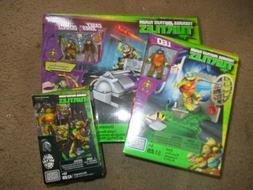 3 Mega Bloks Teenage Mutant Ninja Turtles Sets Turtle Racer