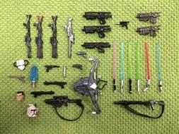 Modern Star Wars Action Figure Weapons Accessories Saga Leg