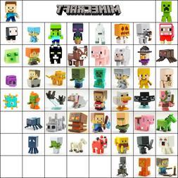 36Pcs/Lot Minecraft Series 2 Stone 3 4 5 Mini Action Figure