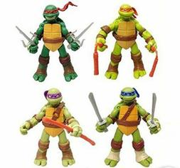 4 PC Set USA Teenage Mutant Ninja Turtles Classic Collection
