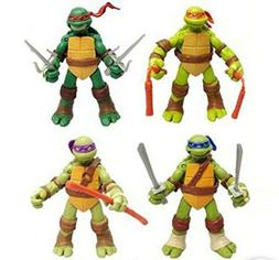 4 Pc Teenage Mutant Ninja Turtles Classic Collection TMNT Ac
