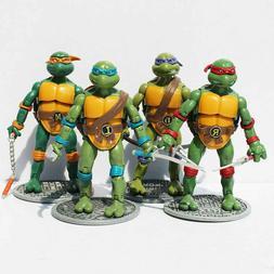 4 pcs teenage mutant ninja turtles action