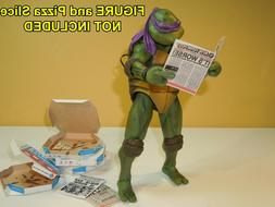 4 Pizza Boxes and 3 Newspapers for Neca 7 inch Teenage Mutan