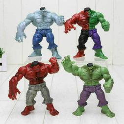 4Pcs/Set Avengers 2 Hulk 4 Different Compound Red Grey Green