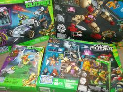 5 Mega Bloks Teenage Mutant Ninja Turtles Sets Kraang Rampag