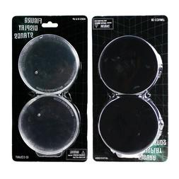"""5pcs 3.5"""" Round Plastic Display Stand Base Plate for 6-8"""" Ac"""