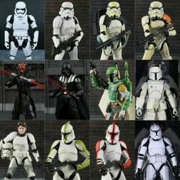 """6"""" Black Series Star Wars Action Figure Darth Vader Boba Fet"""