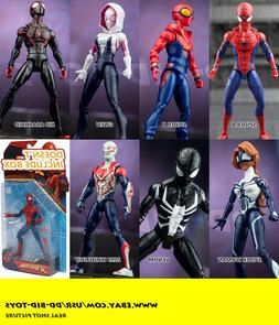 6'' Spider-man 7 styles Action Figure Marvel Legends 209