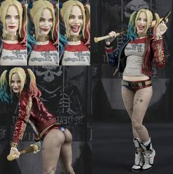 "6"" Suicide Squad Harley Quinn PVC Action Figure Collection M"