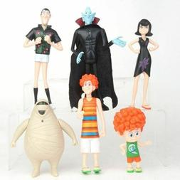 6PCS/Set Hotel Transylvania3 Toy Doll Model Action Figure De