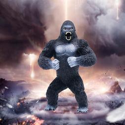"7.5"" King Kong PVC Action Figure Black Gorilla Toy Model H"