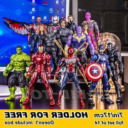 """7"""" Marvel Avengers Infinity War Iron Spiderman Iron Man Acti"""