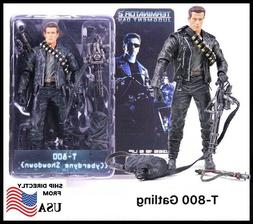 NECA 7 inch The Terminator 3 T-800 Gatling Arnold Action Fig