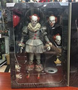"7"" NECA IT Ultimate Pennywise Clown Action Figure Movie Doll"