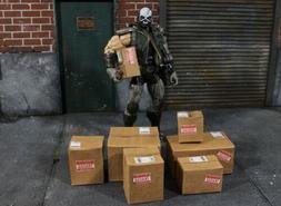 7 Pc Miniature Shipping Box For Mezco, Marvel Legends, Actio