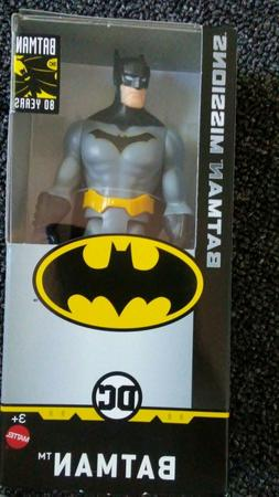 DC Comics 80 Years Batman Missions 6-Inch Action Figure FREE
