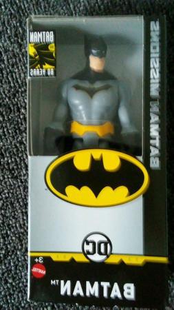 DC Comics 80 Years Batman Missions 6-Inch Action Figure FREE