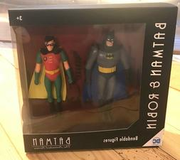 Batman: The Animated Series Batman and Robin 5 1/2-Inch Bend