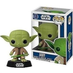 NIB  POP! Star Wars Bobble Head Yoda 3.75-Inch Vinyl Toy Fig