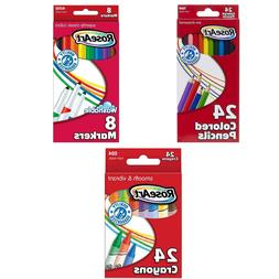 RoseArt 24-Color Crayons, Packaging May Vary