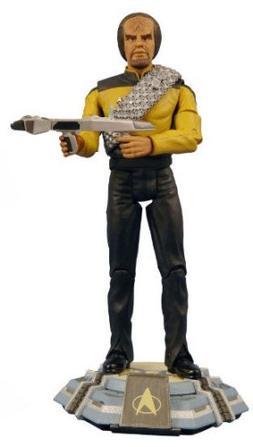 Star Trek: The Next Generation Lt. Commander Worf  Action Fi