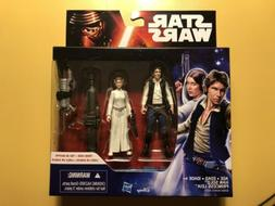 "Star Wars A New Hope Princess Leia & Han Solo 3.75"" Inch A"