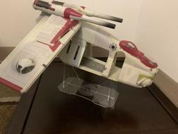 Acrylic Display Stand For Hasbro Star Wars Republic Gunship