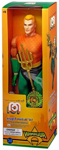 Mego Action Figure 14inch Aquaman Classic Solid Pack Marty A