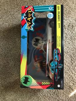 FUNKO ACTION FIGURE: CHROME BATMOBILE WITH BATMAN LIMITED TO