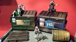 Action Figure dumpster Marvel Legends Dc Universe WWF WWE Wr