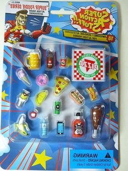 Action Figure Series Accessories 18 Piece Miniature Plastic