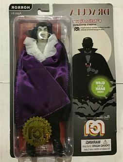 """Mego Action Figures 8"""" Glow in The Dark DRACULA with Purpl"""