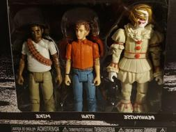 Funko Action Figures: IT Pennywise BEVERLY BEN 3-Pack. With